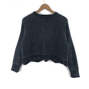 Vintage ZARA Grey Knit Sweater / S
